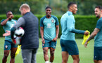 SOUTHAMPTON, ENGLAND - OCTOBER 17: Kevin Danso during a Southampton FC training session, at the Staplewood Campus, on October 17, 2019 in Southampton, England. (Photo by Matt Watson/Southampton FC via Getty Images)