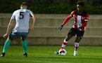 Ramello Mitchell during Premier League 2 match between Southampton FC U23 and Blackburn, at Staplewood Training ground, Southampton 21th October 2019 (pic Isabelle Field)