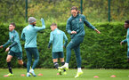 SOUTHAMPTON, ENGLAND - OCTOBER 24: Jannik Vestergaard during a Southampton FC training session at the Staplewood Campus on October 24, 2019 in Southampton, England. (Photo by Matt Watson/Southampton FC via Getty Images)