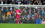 MANCHESTER, ENGLAND - NOVEMBER 02: Alex McCarthy of Southampton during the Premier League match between Manchester City and Southampton FC at Etihad Stadium on November 02, 2019 in Manchester, United Kingdom. (Photo by Matt Watson/Southampton FC via Getty Images)