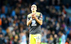 MANCHESTER, ENGLAND - NOVEMBER 02: Oriol Romeu of during the Premier League match between Manchester City and Southampton FC at Etihad Stadium on November 02, 2019 in Manchester, United Kingdom. (Photo by Matt Watson/Southampton FC via Getty Images)