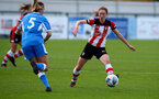 SOUTHAMPTON, ENGLAND - NOVEMBER 03: during the FA Women's National League, Div One South West match between Southampton FC and Larkhall Athletic at AFC Totton's Testwood Park on November 03, 2019 in Southampton, United Kingdom. (Photo by Matt Watson/Southampton FC via Getty Images)
