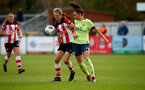 SOUTHAMPTON, ENGLAND - NOVEMBER 17: Shannon Albuery during Womens Hampshire Cup round 2 match between Southampton FC Women and AFC Bournemouth Women, at the Snows stadium AFC Totton, on November 17, 2019 in Southampton, England. (Photo by Matt Watson/Southampton FC via Getty Images)