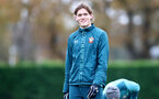SOUTHAMPTON, ENGLAND - NOVEMBER 20: Jannik Vestergaard during a Southampton FC training session at the Staplewood Campus on November 20, 2019 in Southampton, England. (Photo by Matt Watson/Southampton FC via Getty Images)