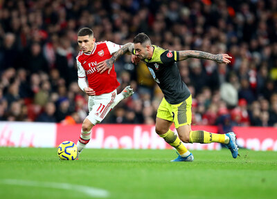 "Ings: Arsenal performance ""a huge step"""