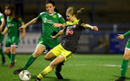 YEOVIL, ENGLAND - November 24: Shannon Albuery during the SRWFL at The Avenue between Yeovil and Southampton Women on November 24 2019, Yeovil, England. (Photo by Isabelle Field/Southampton FC via Getty Images)