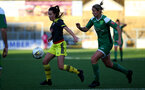 YEOVIL, ENGLAND - DECEMBER 01: Sophia Pharoah during the FA Cup, second round, at The Avenue between Yeovil and Southampton Women on December 01 2019, Yeovil, England. (Photo by Isabelle Field/Southampton FC via Getty Images)