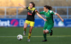 YEOVIL, ENGLAND - DECEMBER 01: Ella Morris during the FA Cup, second round, at The Avenue between Yeovil and Southampton Women on December 01 2019, Yeovil, England. (Photo by Isabelle Field/Southampton FC via Getty Images)