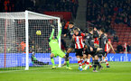 SOUTHAMPTON, ENGLAND - DECEMBER 04: Danny Ings goal  during the Premier League match between Southampton FC and Norwich FC at St Mary's Stadium on December 04, 2019 in Southampton, United Kingdom. (Photo by Isabelle Field/Southampton FC via Getty Images)