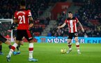 SOUTHAMPTON, ENGLAND - DECEMBER 04: Pierre-Emile Hojbjerg during the Premier League match between Southampton FC and Norwich FC at St Mary's Stadium on December 04, 2019 in Southampton, United Kingdom. (Photo by Isabelle Field/Southampton FC via Getty Images)
