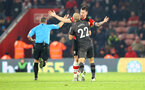 SOUTHAMPTON, ENGLAND - DECEMBER 04: Pierre-Emile Hojbjerg of during the Premier League match between Southampton FC and Norwich City at St Mary's Stadium on December 04, 2019 in Southampton, United Kingdom. (Photo by Matt Watson/Southampton FC via Getty Images)