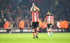 SOUTHAMPTON, ENGLAND - DECEMBER 04: James Ward-Prowse of Southampton during the Premier League match between Southampton FC and Norwich City at St Mary's Stadium on December 04, 2019 in Southampton, United Kingdom. (Photo by Matt Watson/Southampton FC via Getty Images)