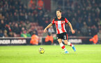 SOUTHAMPTON, ENGLAND - DECEMBER 04: Cedric Soares of Southampton during the Premier League match between Southampton FC and Norwich City at St Mary's Stadium on December 04, 2019 in Southampton, United Kingdom. (Photo by Matt Watson/Southampton FC via Getty Images)