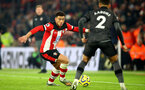 SOUTHAMPTON, ENGLAND - DECEMBER 04: Ché Adams of Southampton during the Premier League match between Southampton FC and Norwich City at St Mary's Stadium on December 04, 2019 in Southampton, United Kingdom. (Photo by Matt Watson/Southampton FC via Getty Images)