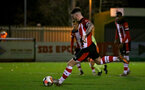 SOUTHAMPTON, ENGLAND - DECEMBER 06: Callum Slattery pen during the Premier League 2 match between Southampton FC U23 and Man City U23 at Snows Stadium, AFC Totton on December 06, 2019 in Southampton, United Kingdom. (Photo by Isabelle Field/Southampton FC via Getty Images)