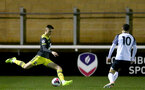 LOUGHBOUROUGH, ENGLAND - DECEMBER 10: Will Smallbone  during Premier League International Cup match between Derby County and Southampton at Loughborough University Stadium on December 10 2019 in Loughborough, England (Photo by Isabelle Field/Southampton FC via Getty Images)