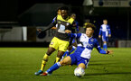 LOUGHBOUROUGH, ENGLAND - DECEMBER 11: Kazeem Olaigbe during FA Youth Cup between Bristol Rovers and SouthamptonU18s at Memorial Stadium on December 11 2019 in Bristol, England (Photo by Isabelle Field/Southampton FC via Getty Images)