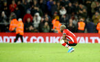 SOUTHAMPTON, ENGLAND - DECEMBER 14: Moussa Djenepo of Southampton dejected during the Premier League match between Southampton FC and West Ham United at St Mary's Stadium on December 14, 2019 in Southampton, United Kingdom. (Photo by Matt Watson/Southampton FC via Getty Images)