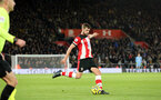 SOUTHAMPTON, ENGLAND - DECEMBER 14: Jack Stephens during the Premier League match between Southampton FC and West Ham United at St Mary's Stadium on December 14, 2019 in Southampton, United Kingdom. (Photo by Chris Moorhouse/Southampton FC via Getty Images)