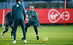 SOUTHAMPTON, ENGLAND - DECEMBER 25: Oriol Romeu during a Christmas day training session at the Staplewood Campus on December 25, 2019 in Southampton, England. (Photo by Matt Watson/Southampton FC via Getty Images)