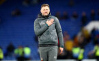 LONDON, ENGLAND - DECEMBER 26: Ralph Hasenhuttl of Southampton during the Premier League match between Chelsea FC and Southampton FC at Stamford Bridge on December 26, 2019 in London, United Kingdom. (Photo by Matt Watson/Getty Images)