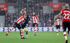 SOUTHAMPTON, ENGLAND - JANUARY 01: James Ward-Prowse during the Premier League match between Southampton FC and Tottenham Hotspur at St Mary's Stadium on January 1, 2020 in Southampton, United Kingdom. (Photo by Chris Moorhouse/Southampton FC via Getty Images)