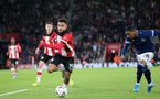 SOUTHAMPTON, ENGLAND - JANUARY 04: Sofiane Boufal during the FA Cup, Third Round, match between Southampton FC and Huddersfield Town at St Mary's Stadium on January 4, 2020 in Southampton, United Kingdom. (Photo by Chris Moorhouse/Southampton FC via Getty Images)