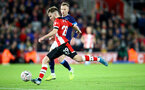 SOUTHAMPTON, ENGLAND - JANUARY 04: Jake Vokins of Southampton strikes to score his teams second goal during the FA Cup Third Round match between Southampton FC and Huddersfield Town at St. Mary's Stadium on January 04, 2020 in Southampton, England. (Photo by Matt Watson/Getty Images)