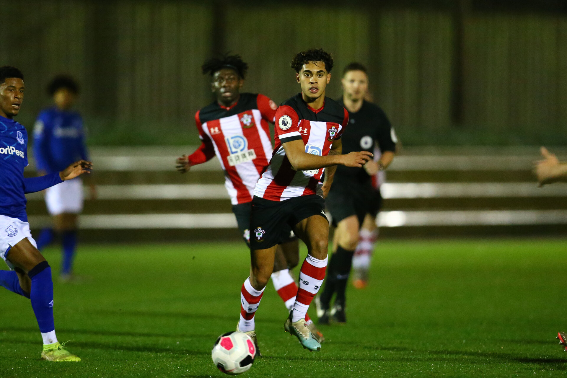 SOUTHAMPTON, ENGLAND - JANUARY 06: Christian Norton during the Premier League 2 match between Southampton U23 and Everton at Staplewood Training Ground on January 6, 2020 in Southampton, United Kingdom. (Photo by Isabelle Field/Southampton FC via Getty Images)