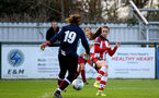 SOUTHAMPTON, ENGLAND - JANUARY 12: Georgie Freeland during the SRWFL at Snow's Stadium between Southampton Women and Chesham on January 12 2020, Totton, England. (Photo by Isabelle Field/Southampton FC via Getty Images)