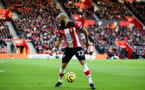SOUTHAMPTON, ENGLAND - JANUARY 18: Nathan Redmond during the Premier League match between Southampton FC and Wolverhampton Wanderers  at St Marys Stadium on January 18, 2020 in Southampton, United Kingdom. (Photo by Isabelle Field/Southampton FC via Getty Images)