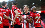 SOUTHAMPTON, ENGLAND - JANUARY 18: James Ward-Prowse of Southampton during the Premier League match between Southampton FC and Wolverhampton Wanderers at St Mary's Stadium on January 18, 2020 in Southampton, United Kingdom. (Photo by Matt Watson/Southampton FC via Getty Images)