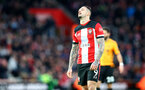 SOUTHAMPTON, ENGLAND - JANUARY 18: Danny Ings of Southampton during the Premier League match between Southampton FC and Wolverhampton Wanderers at St Mary's Stadium on January 18, 2020 in Southampton, United Kingdom. (Photo by Matt Watson/Southampton FC via Getty Images)