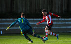SOUTHAMPTON, ENGLAND - JANUARY 18: Jayden Smith of Southampton FC during the Barclays Under 18 Premier League match between Southampton FC and Arsenal FC at the Staplewood Campus on January 18, 2020 in Southampton, England
