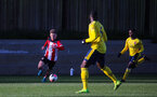 SOUTHAMPTON, ENGLAND - JANUARY 18: Seamas Keogh of Southampton FC during the Barclays Under 18 Premier League match between Southampton FC and Arsenal FC at the Staplewood Campus on January 18, 2020 in Southampton, England