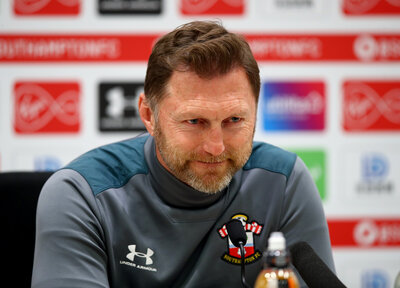 Press Conference (part one): Hasenhüttl assesses Man United test