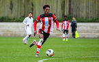 SOUTHAMPTON, ENGLAND - JANUARY 23: Ramello Mitchell of Southampton FC during the Barclays Under 18 Premier League match between Southampton FC and Swansea City at the Staplewood Campus on January 23, 2020 in Southampton, England