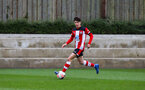 SOUTHAMPTON, ENGLAND - JANUARY 23: Marco Rus of Southampton FC during the Barclays Under 18 Premier League match between Southampton FC and Swansea City at the Staplewood Campus on January 23, 2020 in Southampton, England