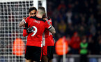 SOUTHAMPTON, ENGLAND - JANUARY 25: Sofiane Boufal(L) of Southampton celebrates after scoring during the FA Cup Fourth Round match between Southampton FC and Tottenham Hotspur at St. Mary's Stadium on January 25, 2020 in Southampton, England. (Photo by Matt Watson/Southampton FC via Getty Images)