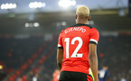 SOUTHAMPTON, ENGLAND - JANUARY 25: Moussa Djenepo during the FA Cup Fourth Round match between Southampton FC and Tottenham Hotspur at St. Mary's Stadium on January 25, 2020 in Southampton, England. (Photo by Isabelle Field/Southampton FC via Getty Images)