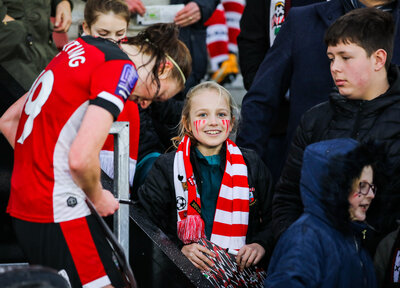 Saints encourage young fans to 'Chase The Rainbow'