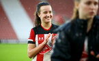 SOUTHAMPTON, ENGLAND - JANUARY 26: Sophia Pharoah during the Women's FA Cup Fourth Round match between Southampton FC and Coventry United Ladies at St. Mary's Stadium on January 26, 2020 in Southampton, England. (Photo by Isabelle Field/Southampton FC via Getty Images)