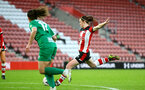 SOUTHAMPTON, ENGLAND - JANUARY 26: Rachel Panting goal  during the Women's FA Cup Fourth Round match between Southampton FC and Coventry United Ladies at St. Mary's Stadium on January 26, 2020 in Southampton, England. (Photo by Isabelle Field/Southampton FC via Getty Images)