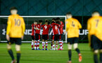 SOUTHAMPTON, ENGLAND - FEBRUARY 03: during the Premier League 2 match between Southampton FC and Wolverhampton Wonderers at Staplewood Training Ground on February 03, 2020 in Southampton, England. (Photo by Isabelle Field/Southampton FC via Getty Images)