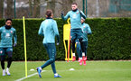 SOUTHAMPTON, ENGLAND - FEBRUARY 04: Pierre-Emile Højbjerg during a Southampton FC training session at the Staplewood Campus on February 04, 2020 in Southampton, England. (Photo by Matt Watson/Southampton FC via Getty Images)
