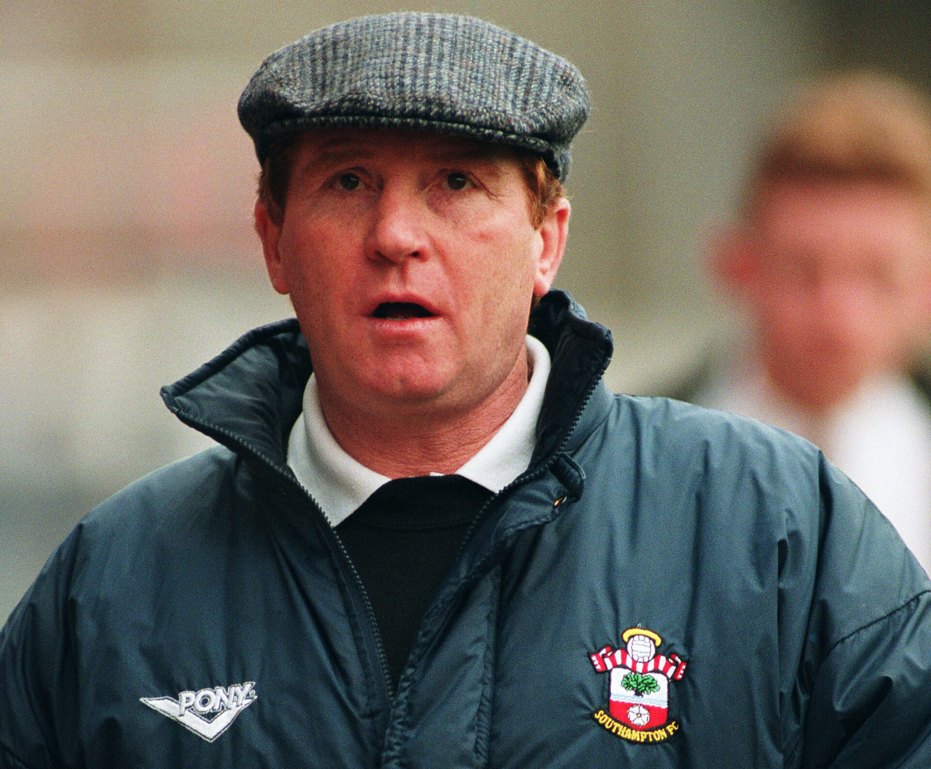 Football - Southampton v Wimbledon - 93/94 - Premier League - The Dell - 26/2/94  Alan Ball - Southampton manager  Mandatory Credit: Action Images