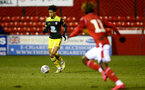 NOTTINGHAM, ENGLAND - FEBRUARY 07: Oludare Olufunwa during the Premier League Cup between Nottingham Forest and Southampton U23 at Impact Arena Stadium on February 07, 2020 in Nottingham, England. (Photo by Isabelle Field/Southampton FC via Getty Images)