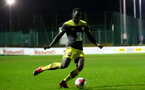 BLACKBURN, ENGLAND - November 27: Pascal Kpohomouh of Southampton during PL2 match between Blackburn and Southampton at Lancashire County FA on February 14 2020, in Blackburn  (Photo by Isabelle Field/Southampton FC via Getty Images)