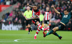 SOUTHAMPTON, ENGLAND - FEBRUARY 15: Danny Ings scores during the Premier League match between Southampton FC and Burnley FC at St Mary's Stadium on February 8, 2020 in Southampton, United Kingdom. (Photo by Chris Moorhouse/Southampton FC via Getty Images)