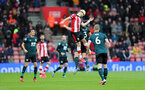 SOUTHAMPTON, ENGLAND - FEBRUARY 15: Shane Long during the Premier League match between Southampton FC and Burnley FC at St Mary's Stadium on February 8, 2020 in Southampton, United Kingdom. (Photo by Chris Moorhouse/Southampton FC via Getty Images)